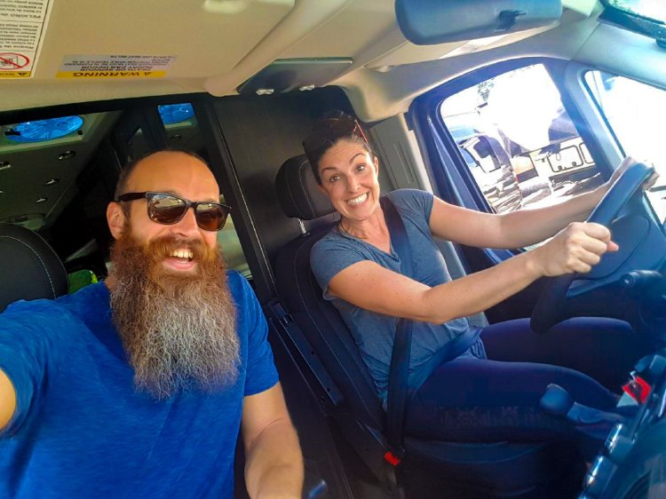 Fulltime travelers, travel couples, full time travel tips, life on the road, vanlife, realities of living in a van, love van life