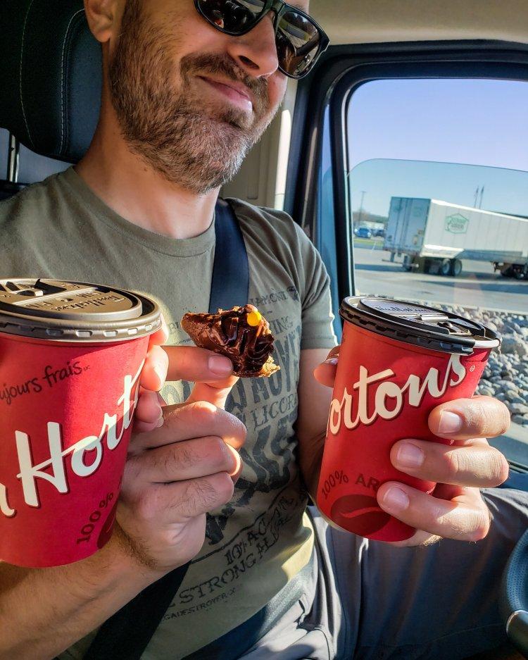 On The Road & Mississippi Van Life Tim Hortons