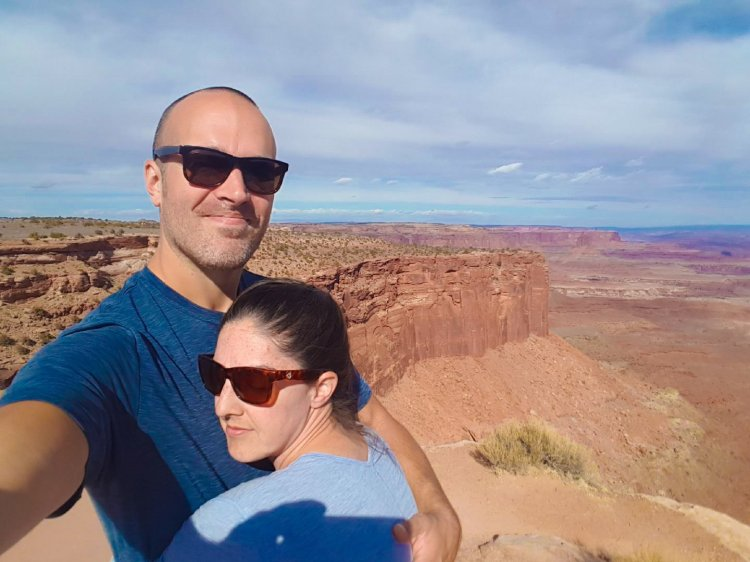 Love about van life travel couple