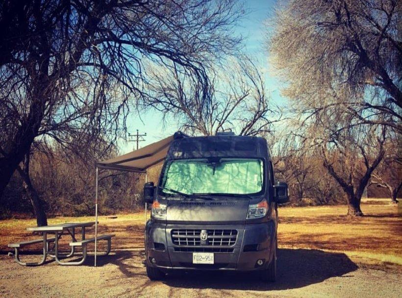 Visit Big Bend National Park Van Life
