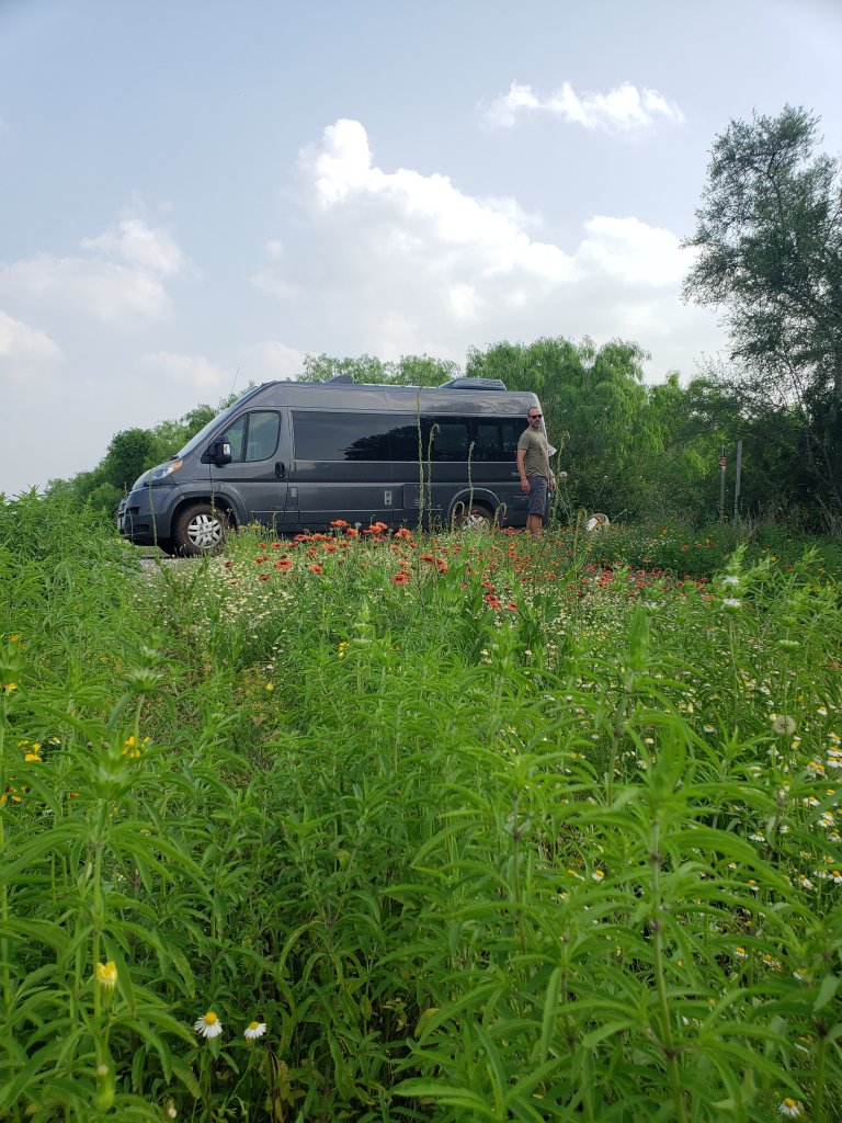 Free Camping in Junction Texas Van Life