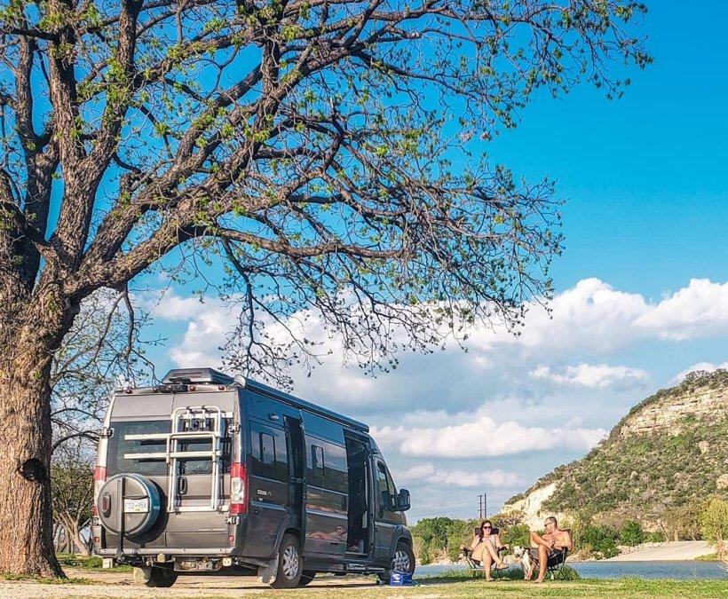 Free Camping in Junction Texas Van Life, Texas, Roadtrip,